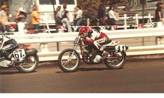 1980 Rookie of the Year Bubba Shobert #67n and Ricky Graham #41, 1980 San Jose Mile