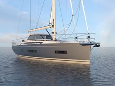 Luxury sailing yacht for cruising around the world! Luxury Sailing Yachts, Sailing Catamaran, Yacht Boat, Sailing Ships, Sailing Boat, Yacht Design, Boat Design, Amel Yachts, Yacht Builders