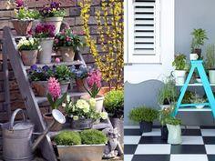 Escaleras viejas para decorar | HomeMade - LoveMade | ModaMood