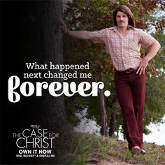 Based on bestselling true story, The Case For Christ is for everyone who has ever pondered the existence of God. Case For Christ, Change Me, You Changed, True Stories, No Response, Shit Happens, Life