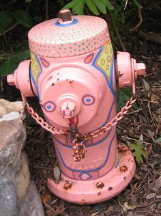 A great example of Disney detail. Even the fire hydrants fit the theme!