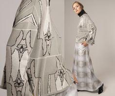 from the Norwegian designer Mette Møller Kimono Top, Winter, Design, Fashion, Dress, Winter Time, Moda, Fashion Styles, Design Comics