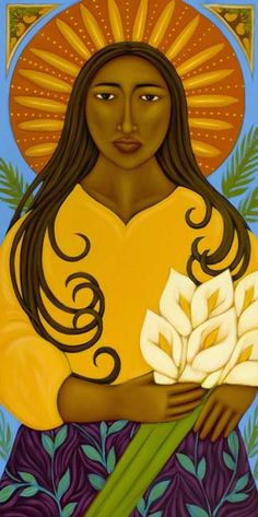 """Flower Goddess"" by Tamara Adams"