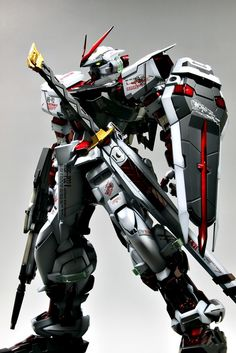 GUNDAM GUY: PG 1/60 MBF-P02 Gundam Astray [Red Frame] - Painted Build