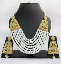 Bollywood-style jewelry set