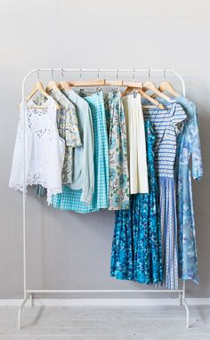 vintage clothing at adored vintage | vintage clothes in shades of blue