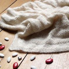 chale tricot bapteme