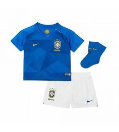043950468d1f Brasilien Bortatröja Barn VM 2018 Kortärmad