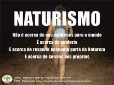 Welcome Page - Pensamentos ao Vento - Associação Naturista