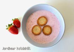 Sabrina's Køkken: Jordbær Koldskål