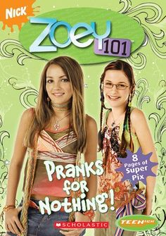 Zoey 101 book  My childhood toys  Pinterest  Zoey 101 and Book