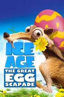Ice Age The Great Egg Scapade Business booms at Sid's new egg-sitting service. However, dastardly pirate bunny Squint, who is seeking revenge on the Ice Age gang, steals, camouflages and hides all the eggs. Once again, with Squint's brother, Clint, assisting, Manny, Diego and the rest of the gang come to the rescue and take off on a daring mission that turns into the world's first Easter egg hunt.