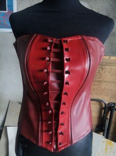 Scarlet Witch corset done.                              …