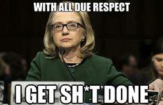 Funny Hillary Clinton Political Memes 2016