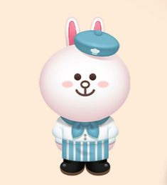 Cony the waitress Line Friends, News Games, Sally, Hello Kitty, Boss, Sisters, Lime, Fictional Characters, Instagram