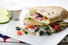 The quesadilla lends itself well to many ethnic variations of the Mexican classic. This skinny [...]