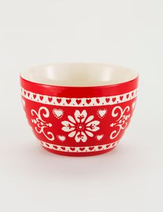 MAINA bowl red | Bowls | Ceramic/glass | Glass and Porcelain | Interior | INDISKA Shop Online