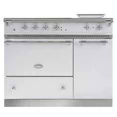 Lovely lacanche range cooker double oven cluny model stainless ...
