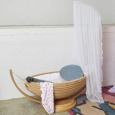 Amazing And Original Cots For The Nursery. Baby Furniture SetsRattan ...