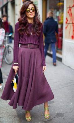Ultra Violet: A Cor da Pantone para 2018 - Gabi May College Fashion, Teen Fashion, Love Fashion, Fashion Models, Fashion Outfits, Womens Fashion, Fashion Tips, Fashion Quotes, Jobs For Women