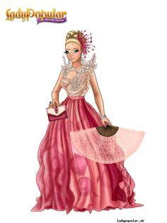 Summer D. in a wonderful dresses :*