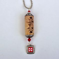 Wine Cork Husker Necklace by OuLaLaWineGifts on Etsy
