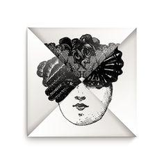 Carton d'invitation pour le mariage de Frederic Ruyant. Visages en animation. Design Ich et Kar