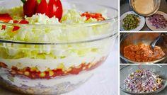 Beste Kuchen: Gyros-Schichtsalat