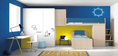 #bureau #chambre #inspiration #kids #design #silverakids #nidi #battistella #silvera