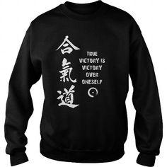 I Love AIkido True Victory T shirts