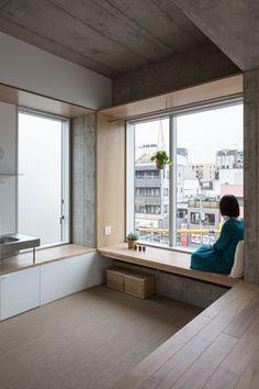 Hiroyuki Ito Architects, Masao Nishikawa · Tatsumi Apartement House