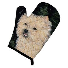Caroline's Treasures Starry Night Cairn Terrier Oven Mitt