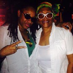 The Queen of Reggae Marcia Griffiths & Music Media Management @ International Reggae Day - Kingston Jamaica July 2015 ... #medianet55
