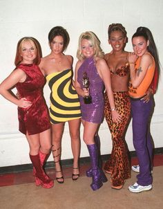 Girl Power. Hold Onto Your Knickers, Girls: Modern Guide to Dressing Like a Spice Girl.