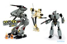BattleTech mechs and more | The Brothers Brick | LEGO Blog