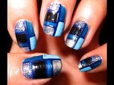 City Girl / Stain Glass Nails