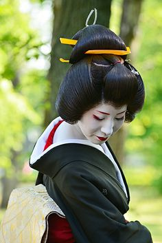 Geiko 芸妓 Geisha Japan, Japanese Geisha, Japanese Beauty, Japanese Kimono, Traditional Japanese Art, Traditional Dresses, Kyoto, Kabuki Costume, Samurai