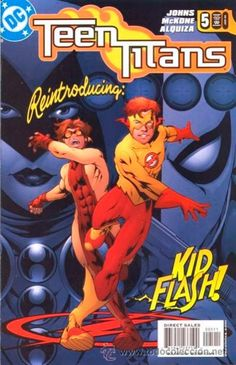 TEEN TITANS. my friend has number four and i wanted to know what happens to bart. what the flash will do to him.