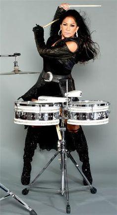 Sheila E drummer,amazing,for Prince many others Girl Drummer, Female Drummer, Female Singers, Music Icon, Soul Music, Beautiful Black Women, Beautiful People, Drums Girl, Sheila E