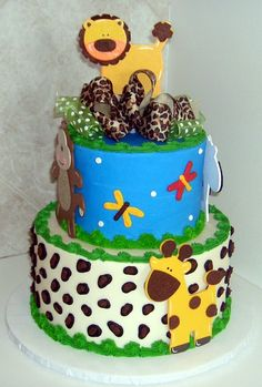 jungle cake how to - Google Search