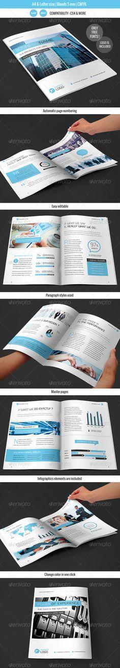 Corportate & Business Brochure Template Design