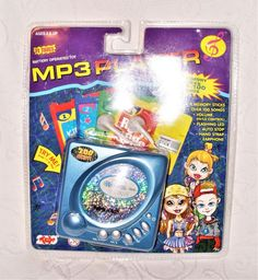 2005 200 Toy Inc. TT Tunes Battery Operated Toy MP3 Player & 4 Memory Sticks NEW #200ToyIncTTTunes