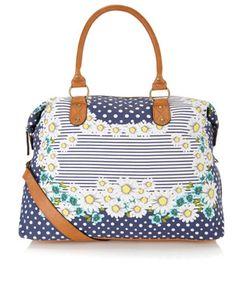 Daisy Weekender Bag | Blue | Accessorize