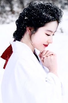 Image in Cria collection by VianneMoe on We Heart It Hanfu, Creation Image, Art Asiatique, Ancient Beauty, China Girl, Cosplay, Pretty Asian, Chinese Clothing, Hair