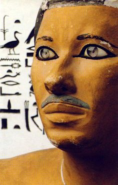 Rahotep (Detail), collection of the Egyptian Museum in Cairo