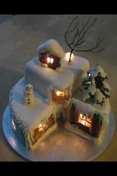 Gorgeous Xmas cake