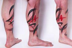 Modern Art Tattoos by Amanda Wachob