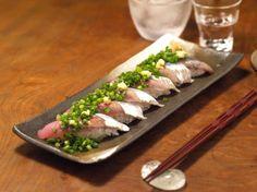 秋刀魚握り2種34