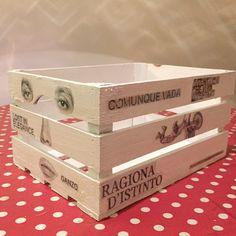 Fruit box #woodcrate #woodencrate #fruitbox #applecrate #diy