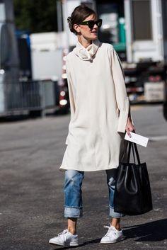Dress over pants! La nueva tendencia de primavera que las celebs aman